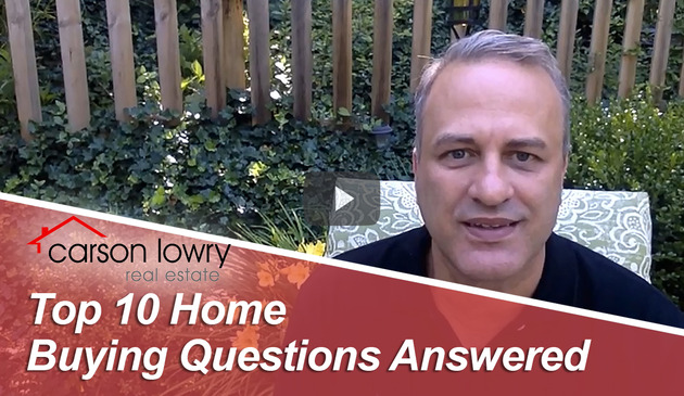 Top 10 Home Buying Questions Answered